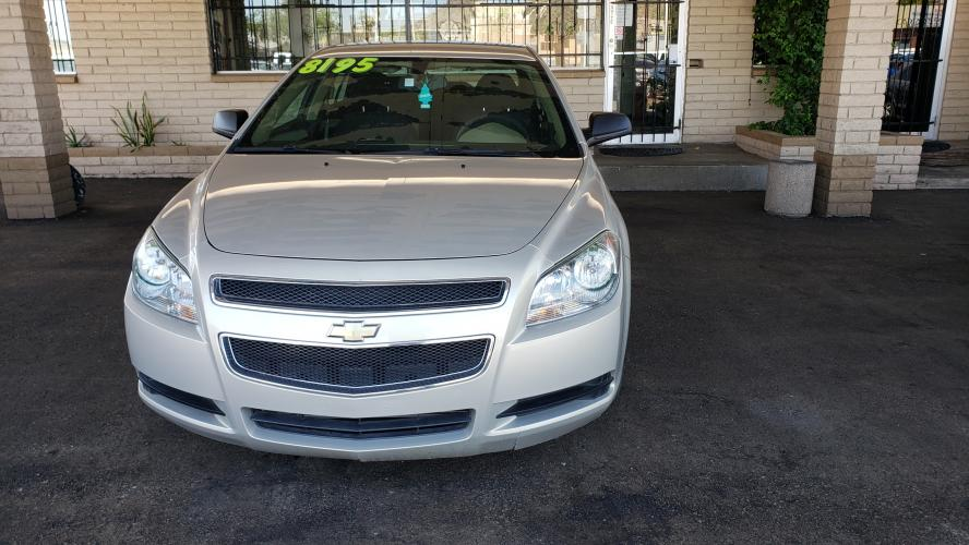 2012 Silver Chevrolet Malibu LS (1G1ZB5E07CF) with an 2.4L L4 DOHC 16V engine, 6-Speed Automatic transmission, located at 323 E Dunlap Ave., Phoenix, AZ, 85020, (602) 331-9000, 33.567677, -112.069000 - Photo #0