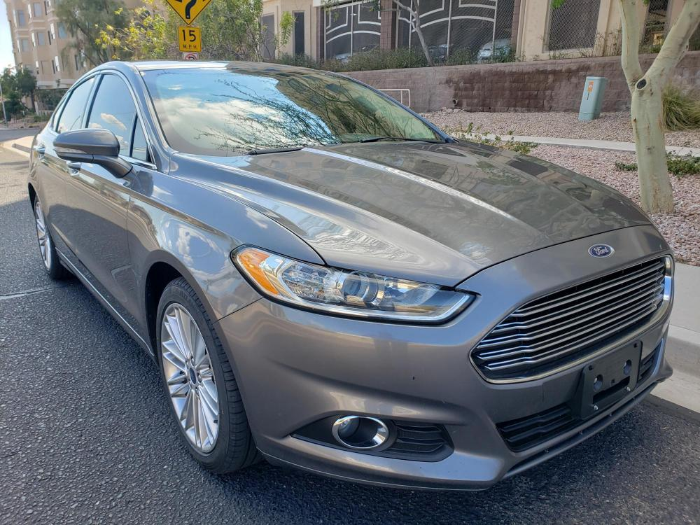 2014 Ford Fusion SE (3FA6P0HD8ER) with an 1.5L L4 DOHC 16V engine, located at 323 E Dunlap Ave., Phoenix, AZ, 85020, (602) 331-9000, 33.567677, -112.069000 - Photo #0